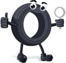 Compare-pneus.com.br mascott